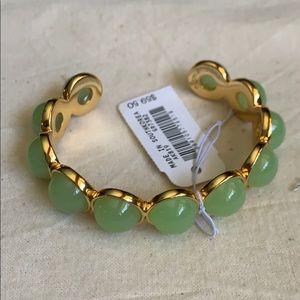 Jcrew gumdrop cuff bracelet